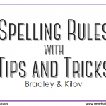Spelling Rules with Tips and Tricks Cards