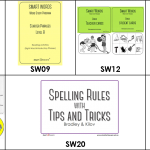 Smart Words Starting Package:  SW01, SW09, SW12, SW13, SW14, SW20, SWUG